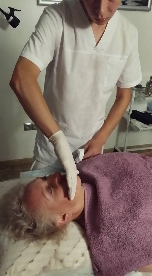 интраоральный массаж